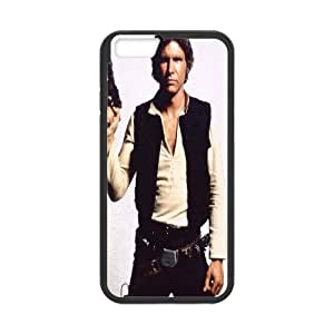 iPhone 6 Plus Cases, Cheap Han Solo Star Wars Harrison Ford Cases For iPhone 6 Plus {Black}