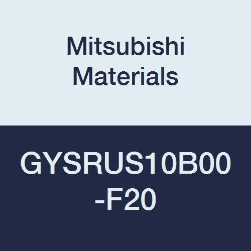 4.500 L 0.118//0.125//0.128 Seat Mitsubishi Materials GYSRUS10B00-F20 GY Mono Block External Grooving Holder for Small Lathe 0/° Angle 0.625 H 0.787 Grooving Depth 0.625 W Right