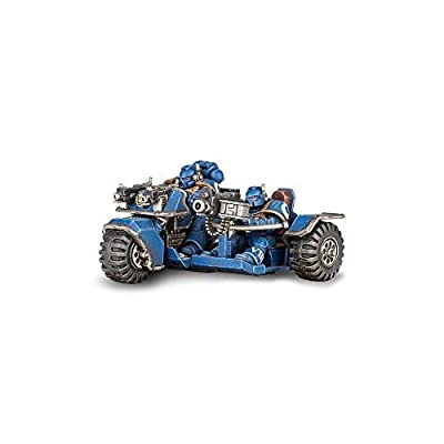 Games Workshop Warhammer 40k Space Marine Attack Bike: Toys & Games