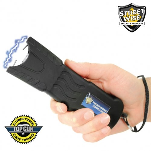 Touchdown 7,500,000 Stun Gun Rechargeable Bundle Deal by The Home Security Superstore