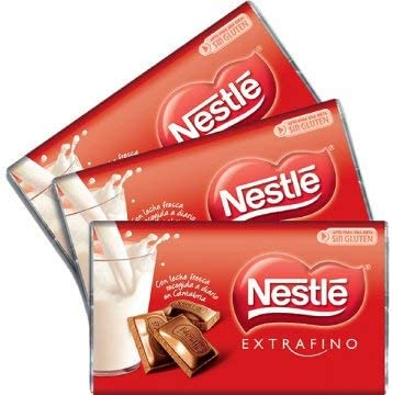 Nestlé Mini Tabletas - Chocolatinas chocolate con leche - Pack 24 ...