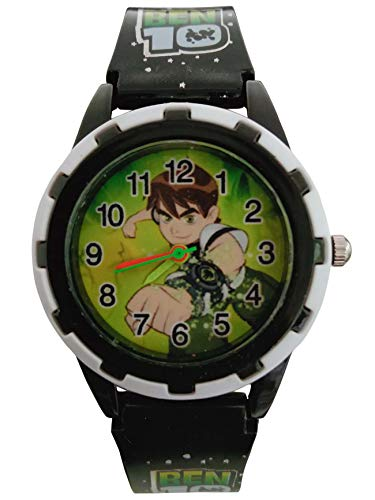 VITREND R TM  Cartoon Ben 10 Analog Round dial Watch for Boys amp;Girls Sent As per Available Colour
