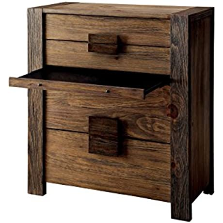 HOMES Inside Out IDF 7628C Aesop Chest Rustic