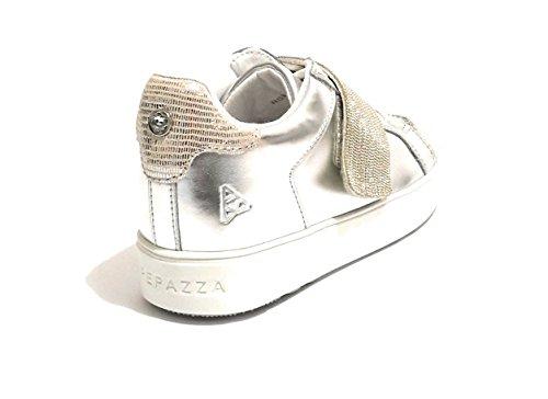 Apepazza Piel Plateado De Mujer Zapatillas Para w6EqZwxr