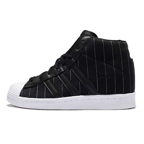 adidas Women's Superstar Up W, BLACK/WHITE new