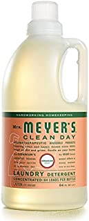 product image for Mrs. Meyer's Clean Day Liquid Laundry Detergent, Cruelty Free and Biodegradable Formula, Geranium Scent, 64 oz