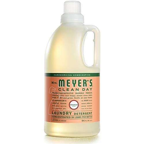 Mrs. Meyer's Laundry Detergent Geranium, 64 OZ by MRS MEYERS