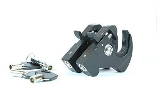 (Rotary Docking Latches with Locks for Harley Davidson Sissy Bar Uprights and Luggage Racks)