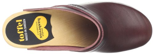 hasbeens Women's Bordeaux Slip Mule High swedish In Super dvz00Wnx
