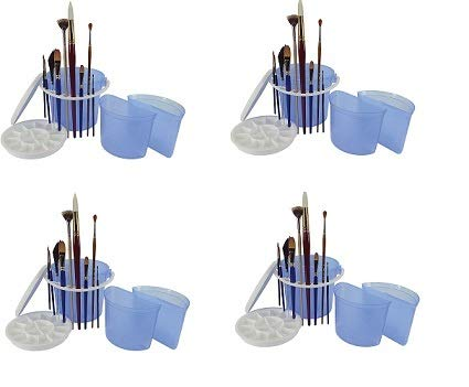 Art Advantage ART-6945-4 Brush Wash Bucket with Removable Inner Basins (Fоur Расk)