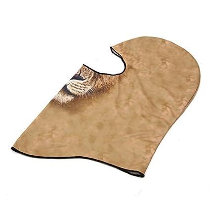 Padrão DealMux Tiger Máscara Facial Vento Sun capa de poeira Neck Hat Balaclava para a motocicleta