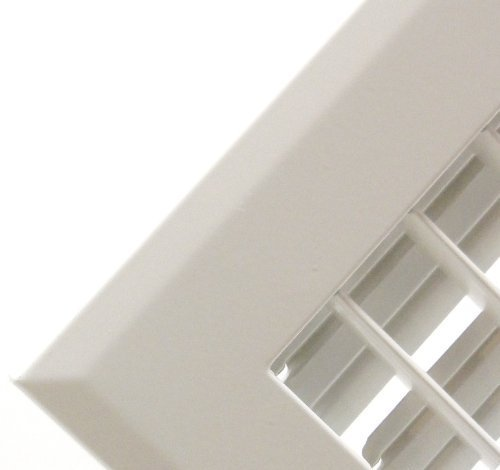 16 X 14 Adjustable AIR Supply Diffuser Outer Dimensions: 17.75w X 15.75h High Airflow Grille Register White HVAC Vent Cover Sidewall or Ceiling HVAC Premium