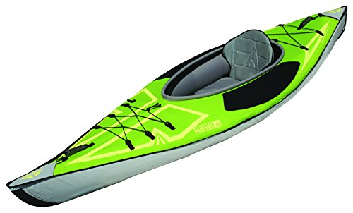 ADVANCED ELEMENTS Advancedframe Ultralite Inflatable Kayak, Green