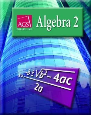 Amazon com: AGS Algebra 2: Student Text (Hardcover
