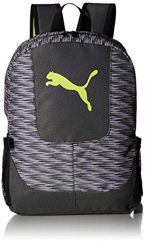 PUMA Big Kid's Lunch Box Backpack Combo, Gray/Green, OS -