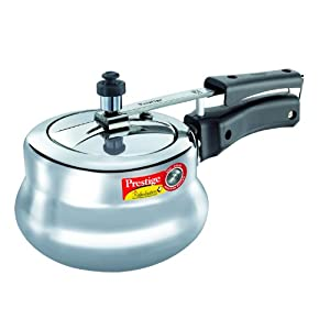 Prestige Nakshatra Plus Induction Base Aluminium Pressure Handi, 2 Litres
