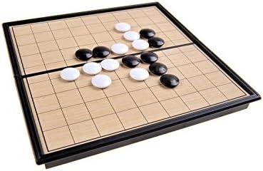 Quantum Abacus Juego de Mesa magnético (versión Super Mini de Viaje): I-Go - Piezas magnéticas, Tablero Plegable, 13cm x 13cm x 1, 2cm, Mod. SC5212 (DE): Amazon.es: Juguetes y juegos