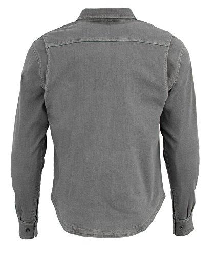 Milwaukee Performance Men's Denim Biker Shirt with Aramid (Grey, XX-Large), 0 Pack by Milwaukee Performance (Image #1)