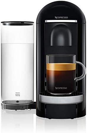 Nestle Nespresso GCB2-US-BK-NE Nespresso VertuoPlus Deluxe Coffee and Espresso Machine