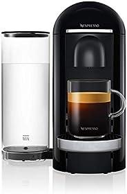NESPRESSO Cafetera VertuoPlus, Color Negra (Incluye obsequio de 14 cápsulas de café)