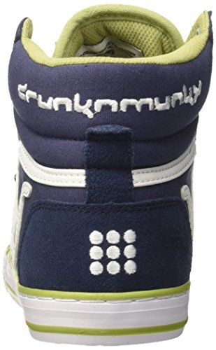 DrunknMunky Boston Classic, Zapatillas de Tenis para Hombre Blu (Navy/Olive)