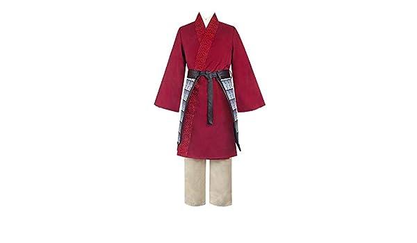 Lookit Like Disfraz de Mulan Vestido de Princesa heroína China ...