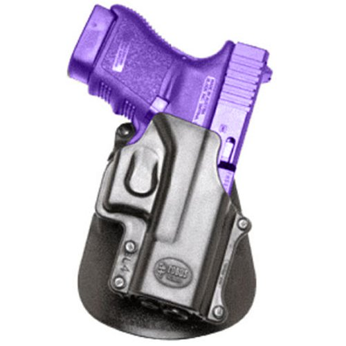 (Fobus Tactical GL-4 LH RT Standard Left Hand Conceal Carry Polymer Roto Paddle Holster For Glock 29, 30, 39, 21SF, 30SF, 30S / Smith&Wesson 99 / Sigma - Black)