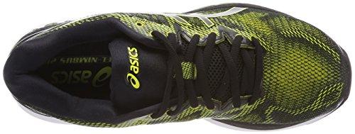 Asics Gel-Nimbus 20, Scarpe da Running Uomo Multicolore (Sulphur Spring/Black/White)