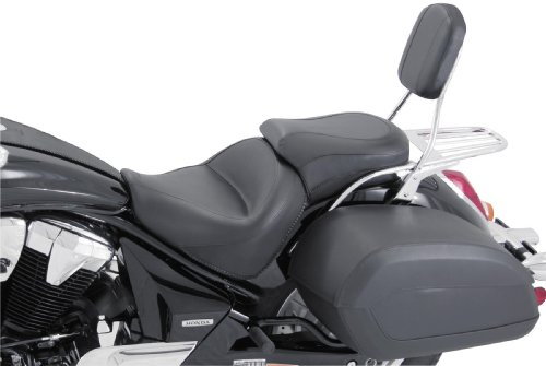 - Mustang Motorcycle 2 PC Vintage Seat Black for Yamaha V-Star 650 Classic