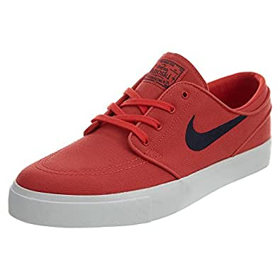 Nike SB Zoom Stefan Janoski Canvas Shoes 615957-642 Red Men's Size 10.5 M