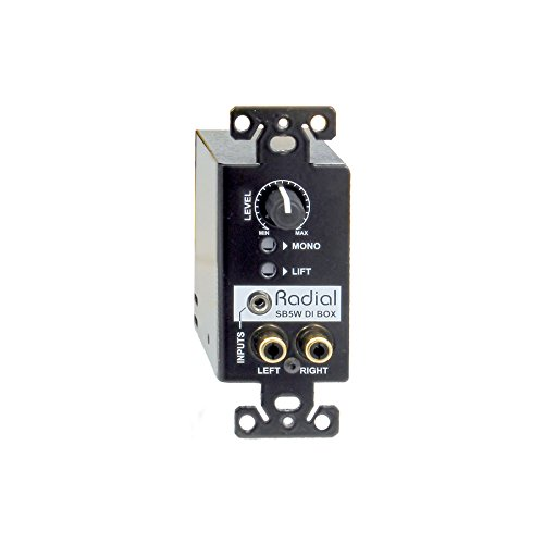 Radial StageBug SB5W Wall-mounted stereo direct box by Radial