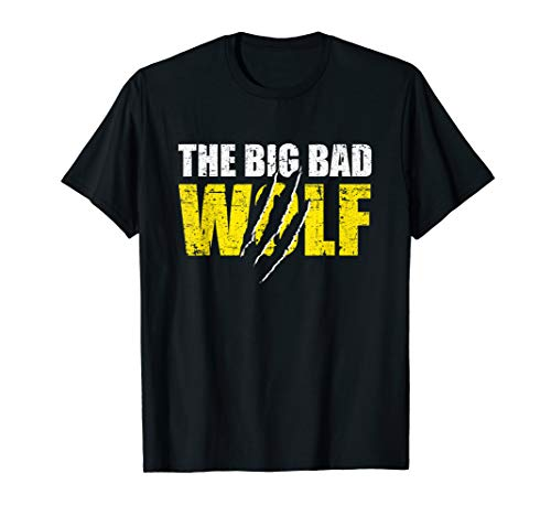 big bad wolf Halloween Costume wolf trick treat shirt gift