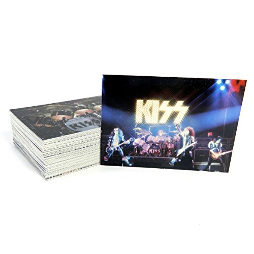 2001 Kiss Alive Complete Factory Trading Card Set (72 Cards)