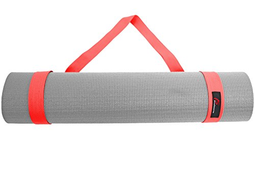 ProSource Yoga Mat Carrying Sling, Easy Adjustable Carry Str