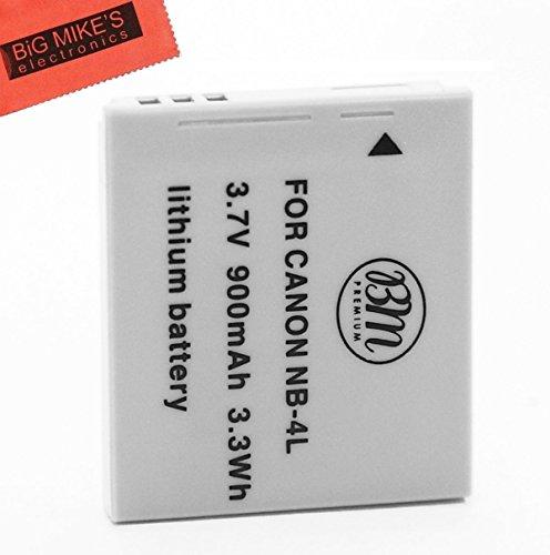 BM Premium NB-4L Battery For Canon Vixia mini PowerShot Elph 100 HS, Elph 300 HS, Elph 310 HS, SD 30, SD 40, SD 200, SD300, SD400, SD430, SD450, SD600, SD630, SD750, SD780, SD960, SD1000, SD1100 IS, S