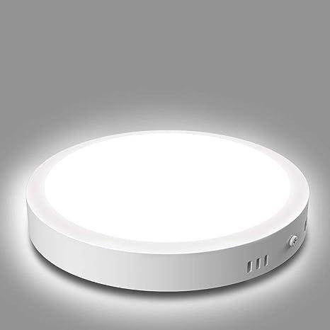 18W LED Deckenleuchte Rund Deckenlampe Badleuchte Wohnzimmer Küche Flur Kaltweiß
