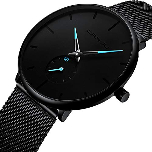 Chronograph Automatic Gold Case - Hewantiey Mens Watch Minimalist Digital Wrist Watch Durable Automatic Watches Lightweight Simple Smart Watch