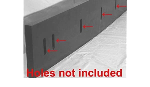 "Urethane Snow Plow Blade 1/"" X 6/"" X 78/""  *** Outlasts Rubber Blades//Edges ***"