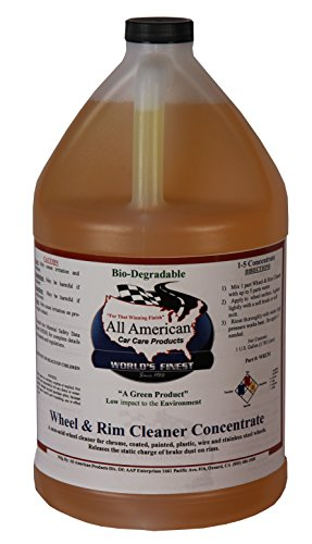 All American Car Care Products Wheel & Rim Cleaner Concentrate (1 Gallon)