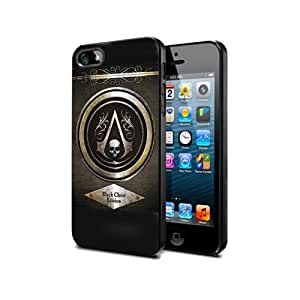 Ass03 Assassin's creed 4 Game : Juego Funda de silicona el Negro para Samsung S3