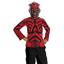 Star Wars Darth Maul Shirt & Mask Costume Set Child