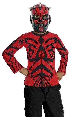 [Star Wars Darth Maul Value Costume - Large] (Child Darth Maul Costumes)