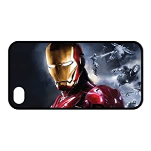 Custom Hot Popular Fashion Movie Serie Design Iron Man 3 TPU Cases Protector Snap On For iphone 4/4s