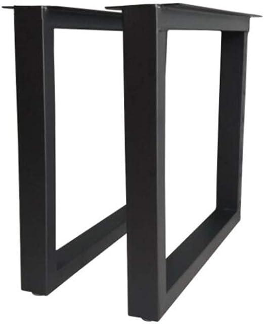 Patas de metal para muebles Pies de mesa de tubo cuadrado de ...