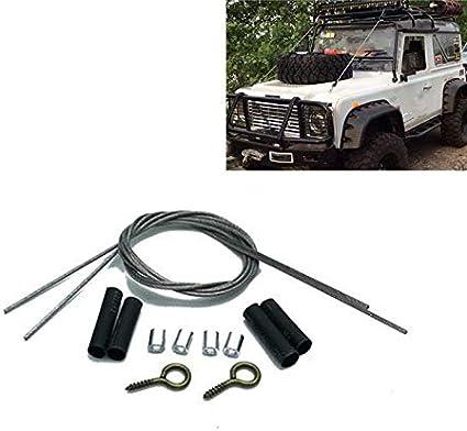KINGDUO Metal Miembro Riser Cuerdas Herramienta De Ajuste para Traxxas TRX-4 D90 Scx10 1/10 Escala Crawler RC Car Parts
