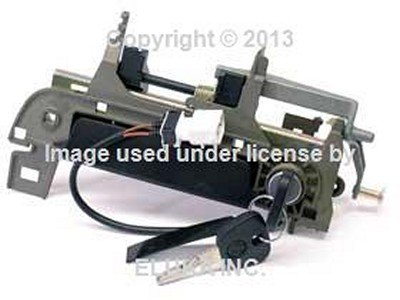 BMW Genuine Outside Door Handle Assembly with Key Front Left for 318i 318is 318ti 320i 323i 325i 325is 328i M3 M3 3.2