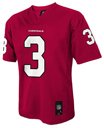 NFL Chicago Cardinals Boys Player Fashion Jersey, Large (14-16), Cardinal (Nfl Fashion)