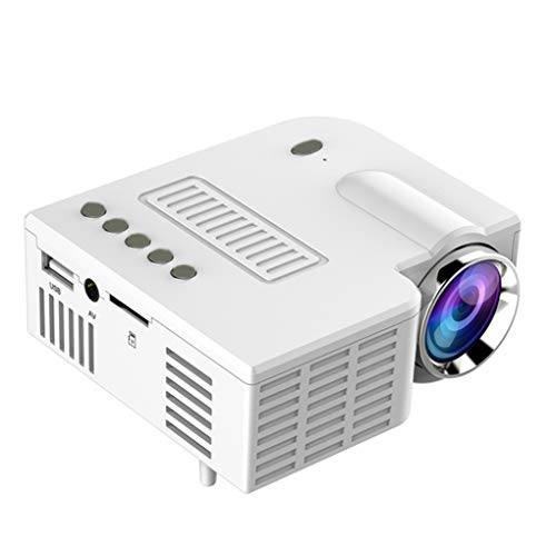 rongweiwang Home Theater 1080P Projector Draagbare telefoon projector telefoon Projector met AV USB TF-kaartinterface…