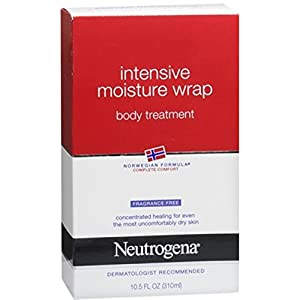 Neutrogena Norwegian Formula, Intense Moisture Wrap, Body Treatment, Fragrance Free, 10.5 Ounce (Pack of 2)