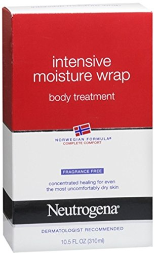 Neutrogena Intensive Moisture Wrap Body Treatment Fragrance Free 10.50 oz (Pack of (Moisture Wrap)
